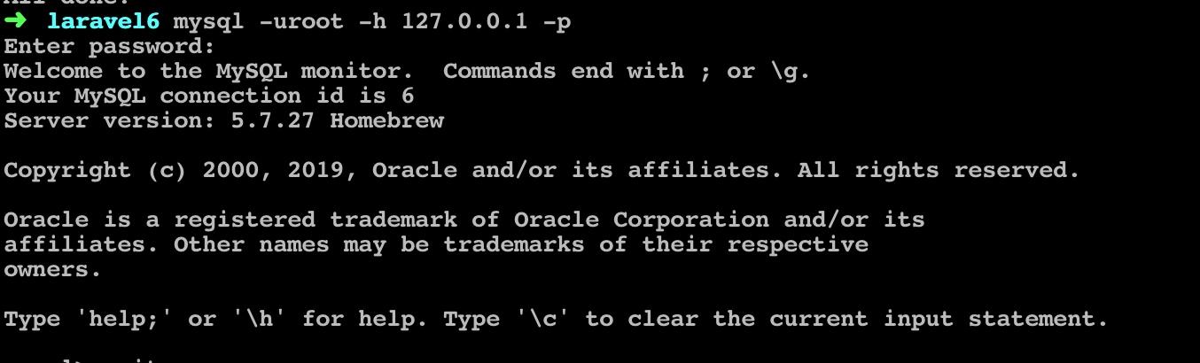 在命令行通过密码连接 MySQL