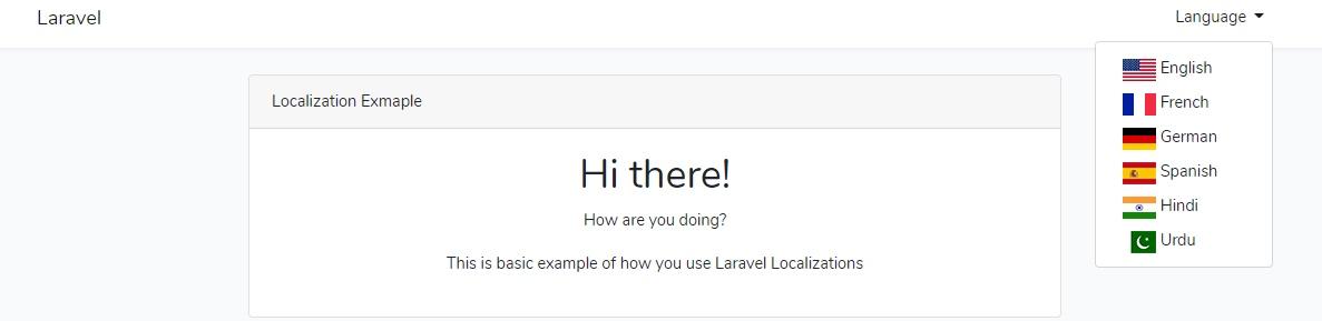 Laravel 本地化