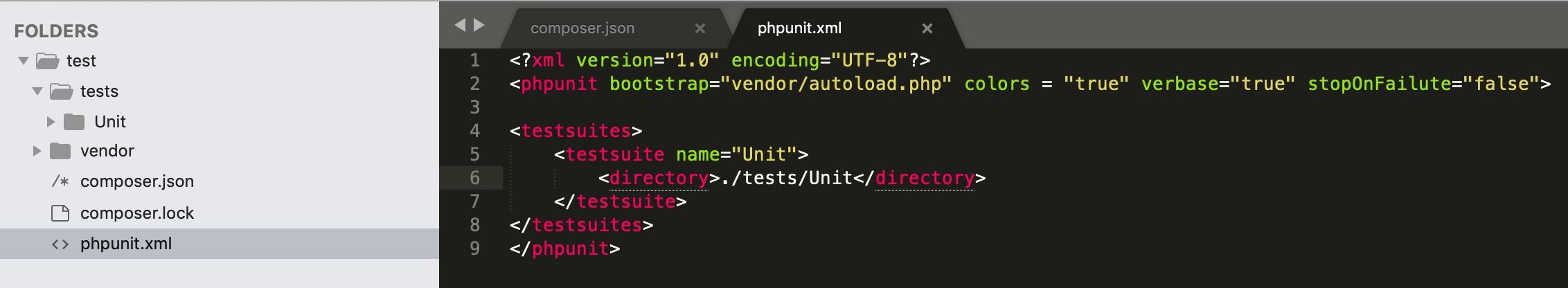 PHPUnit单元测试