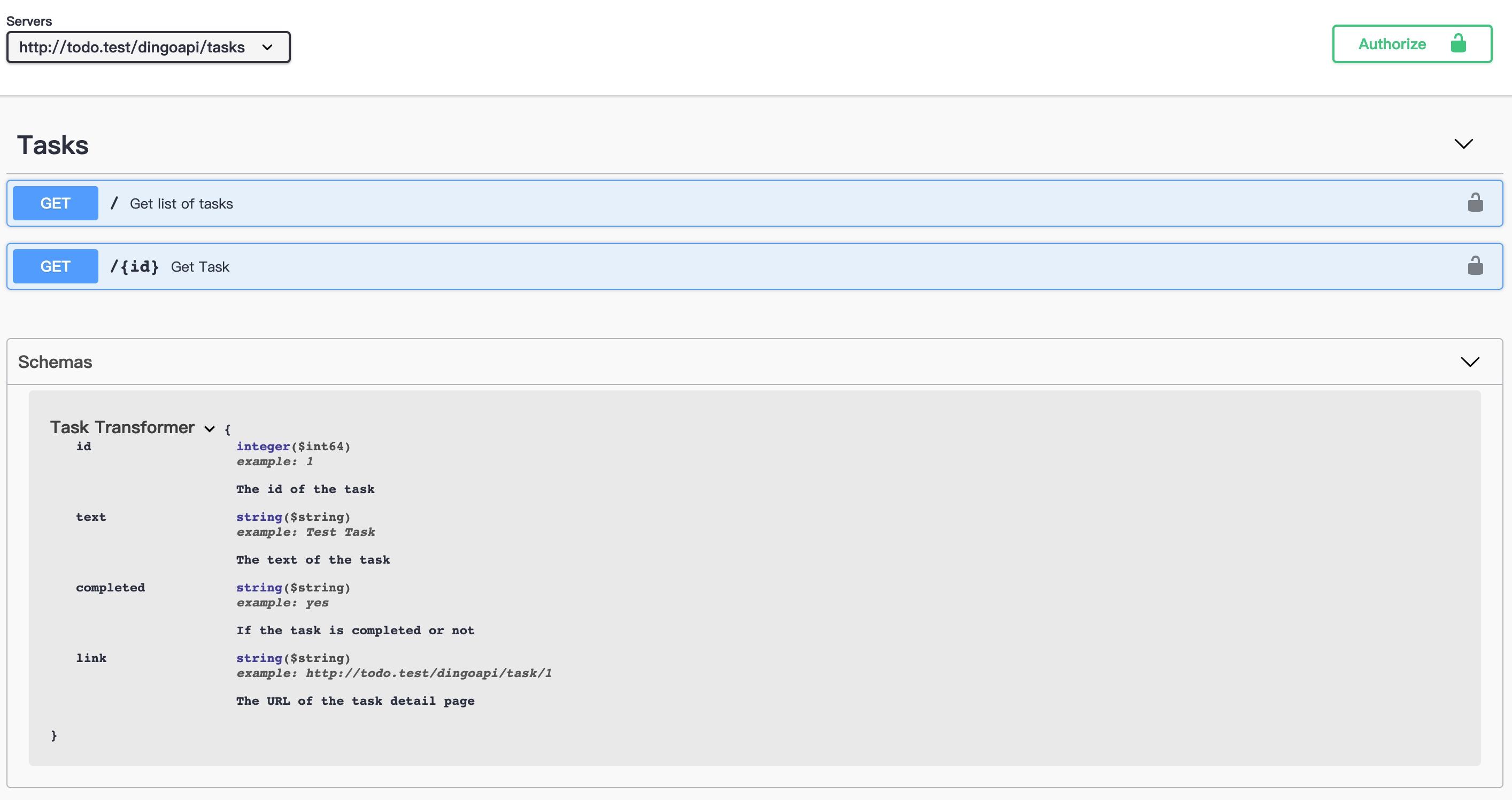 Laravel+Swagger生成含Schema的API文档